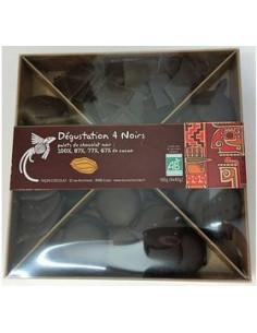 Coffret Assortiment Chocolat Bio Noir Nature