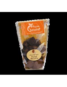 Bonbon Chocolat Noir Bio Praliné noisette