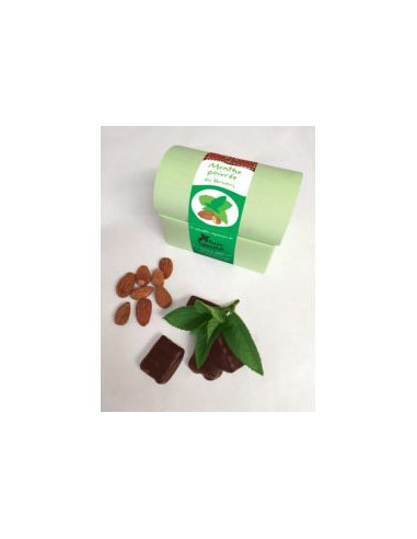 Bouchée Chocolat Pâte d'Amande & Menthe