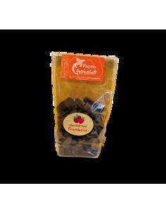 Bonbon Chocolat Noir Bio - fourré Framboise