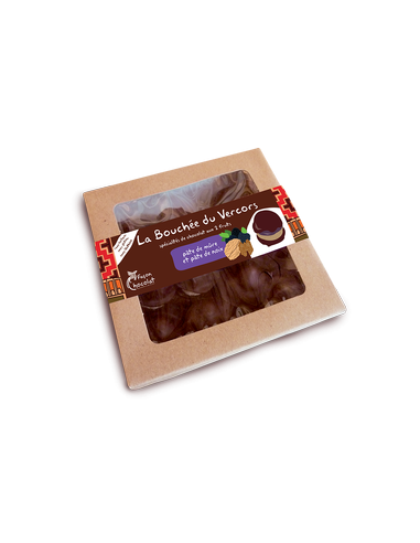 Bouchée Vercors Chocolat Noir Bio & Mûre