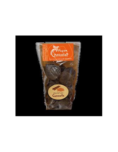 Palet Chocolat Noir Bio Epicé Cannelle