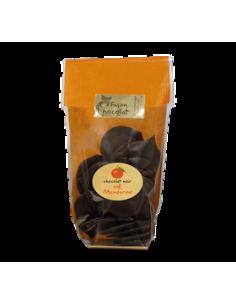 Chocolat Bio Noir Huile Essentielle Mandarine