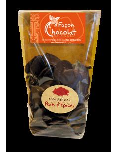 Palet de Chocolat noir aux épices du pain d'épices