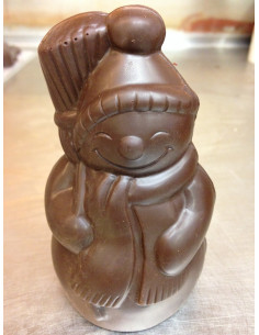 Bonhomme de neige chocolat...