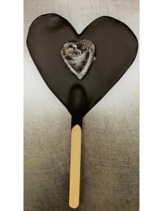 Sucette coeur chocolat - 55g