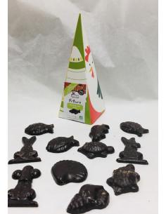 Cône Friture Chocolat Noir...