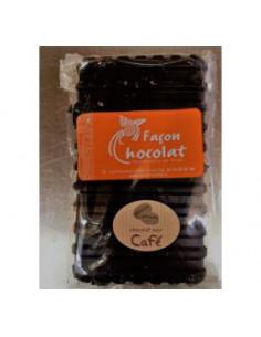 Tablette Chocolat Bio Noir au café