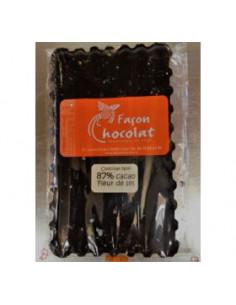Tablette Chocolat Bio Noir à la Fleur de Sel