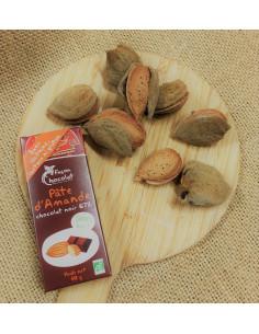 Barre chocolatée bio pâte...
