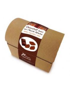 Chocolat Noir Bio au Rhum Blanc