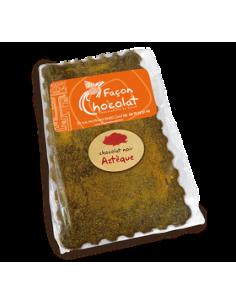 Tablette Chocolat Bio Noir Epices aztèques