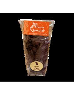 Palet Cacao Noir Bio 100% cacao sans sucre