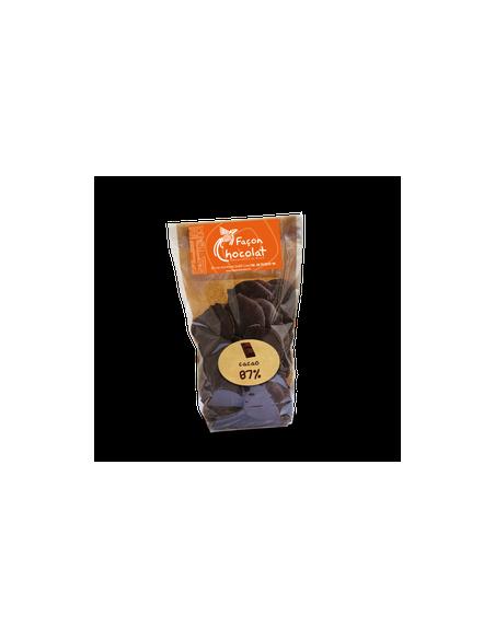 Palet Chocolat Noir Bio 67% cacao nature