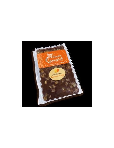 Tablette Chocolat Bio Noir Ecorce d'Orange