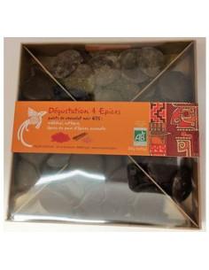 Coffret Assortiment Chocolat Epices Bio